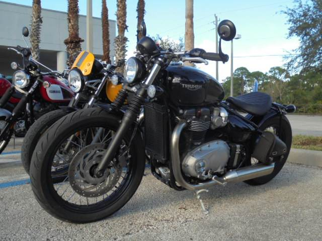 2017 Triumph Bonneville Bobber in Palm Bay, Florida