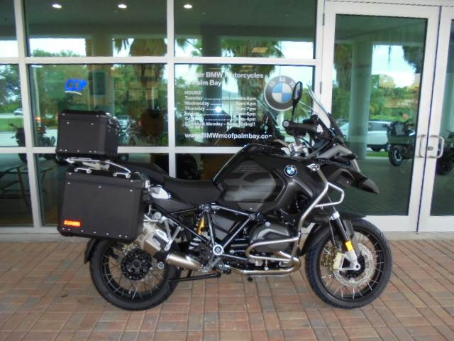 New 2018 Bmw R 1200 Gs Adventure Motorcycles In Palm Bay Fl Stock
