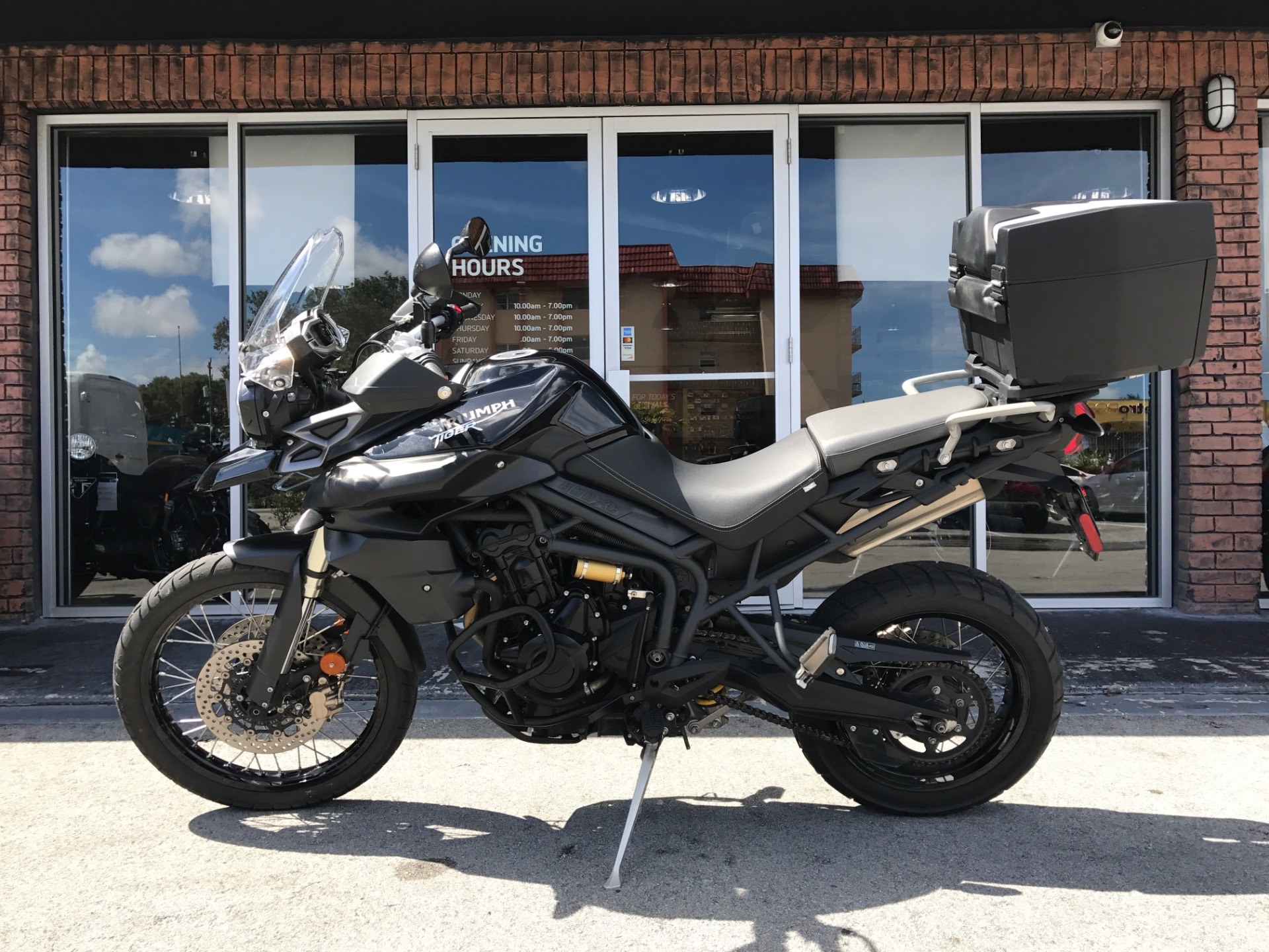 2013 Triumph Tiger 800 XC ABS in Miami, Florida