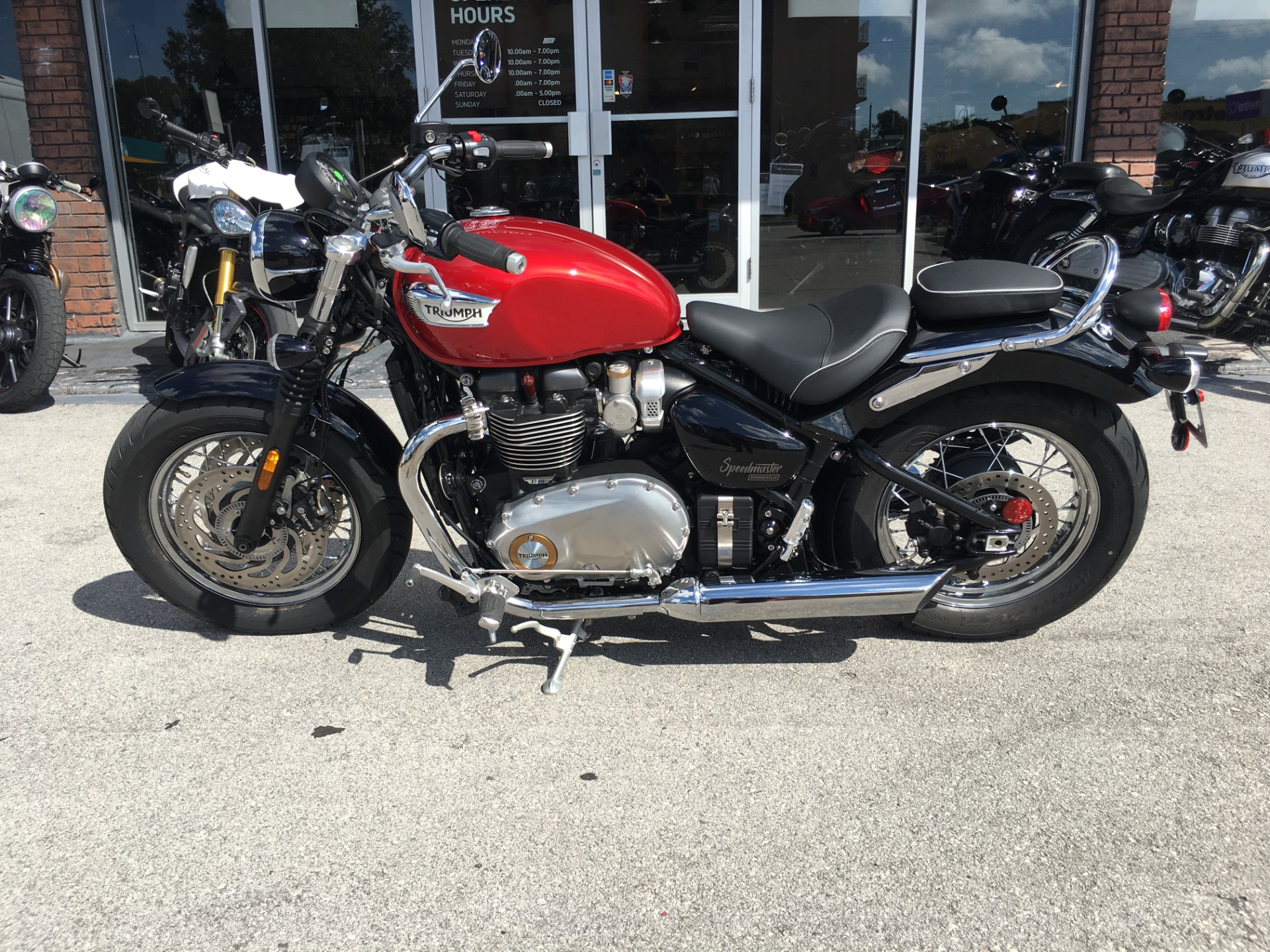 2018 Triumph Bonneville Speedmaster in Miami, Florida