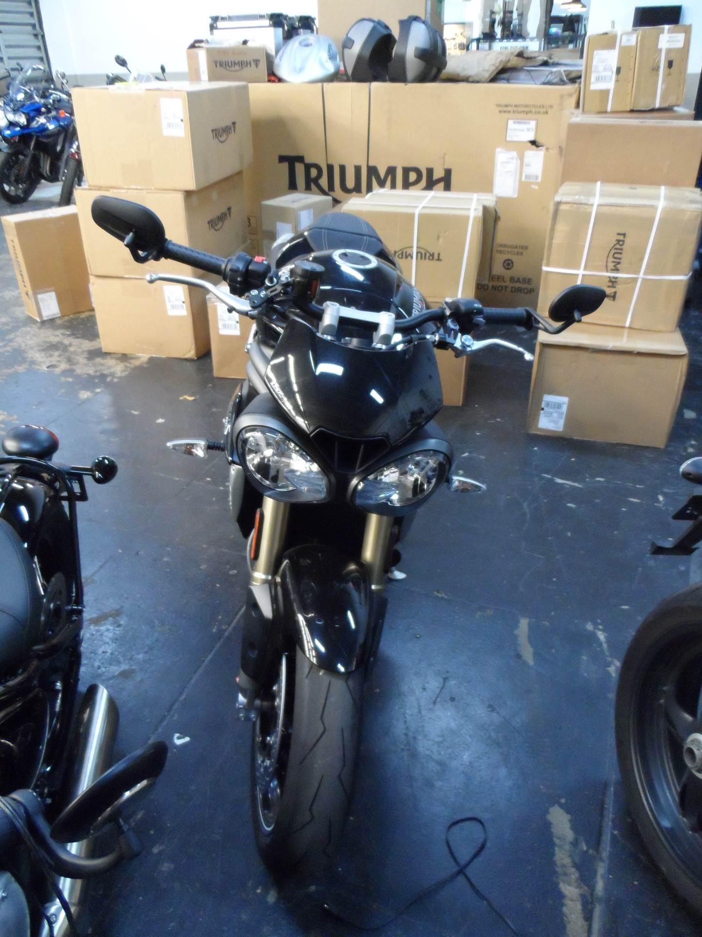 2016 Triumph Speed Triple S in Miami, Florida