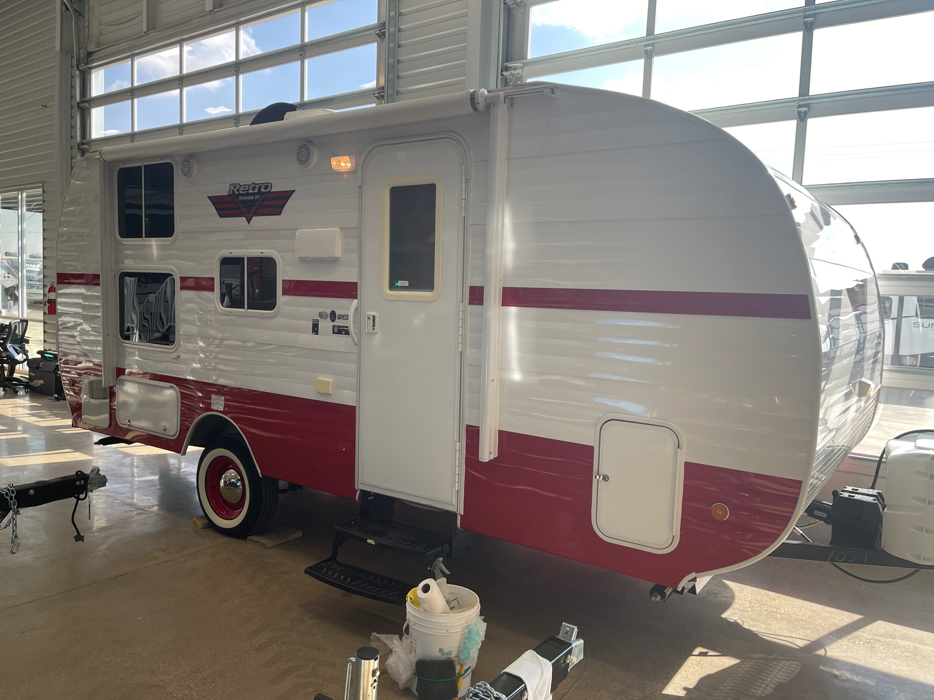 2019 Riverside RV  Retro 190BH in Wolfforth, Texas - Photo 1