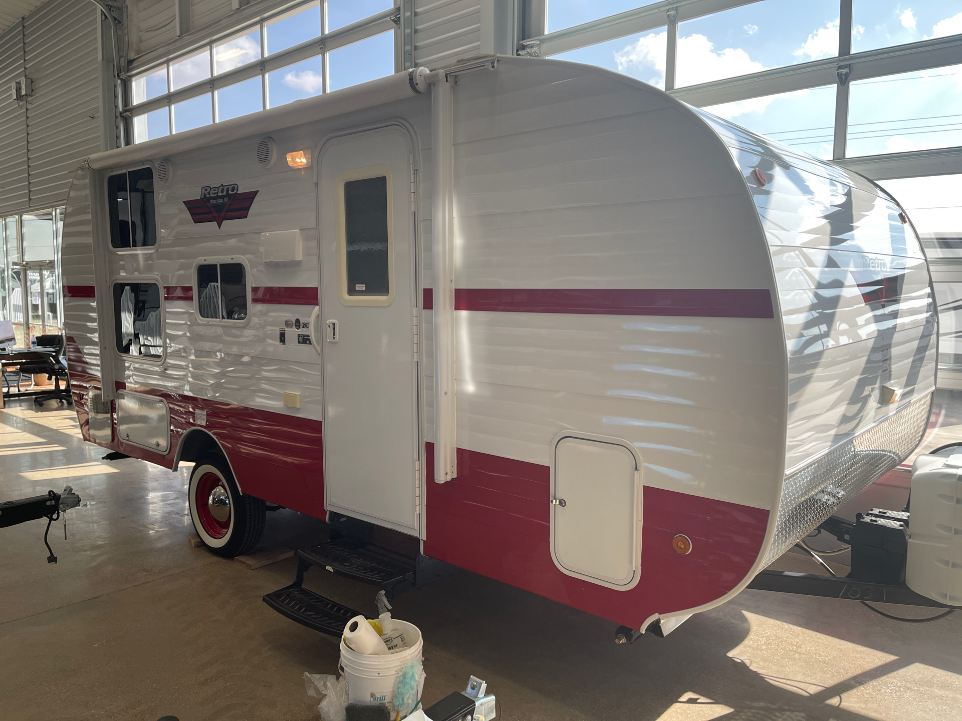 2019 Riverside RV  Retro 190BH in Wolfforth, Texas - Photo 4