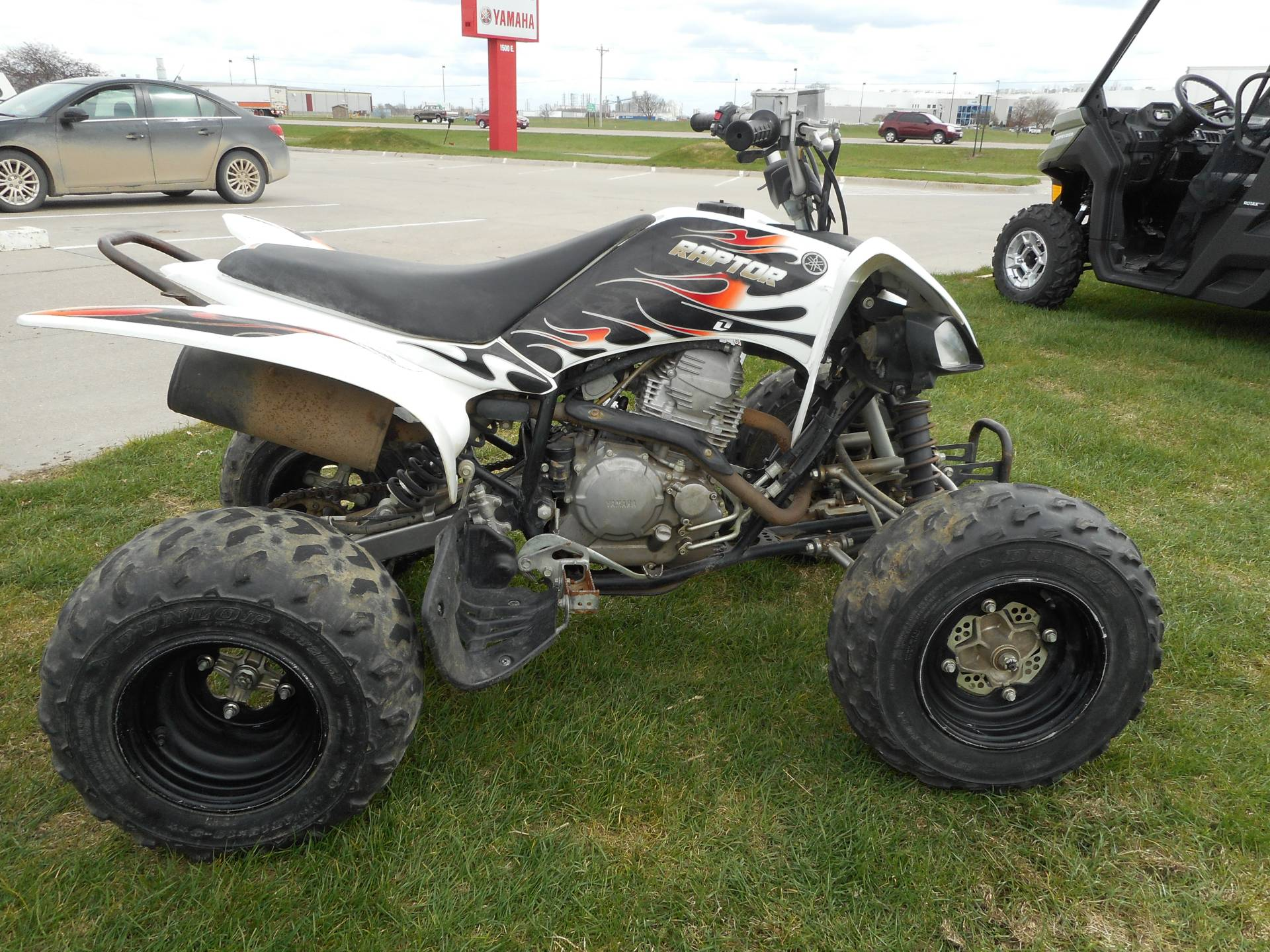 2010 Yamaha Raptor 250 in Columbus, Nebraska