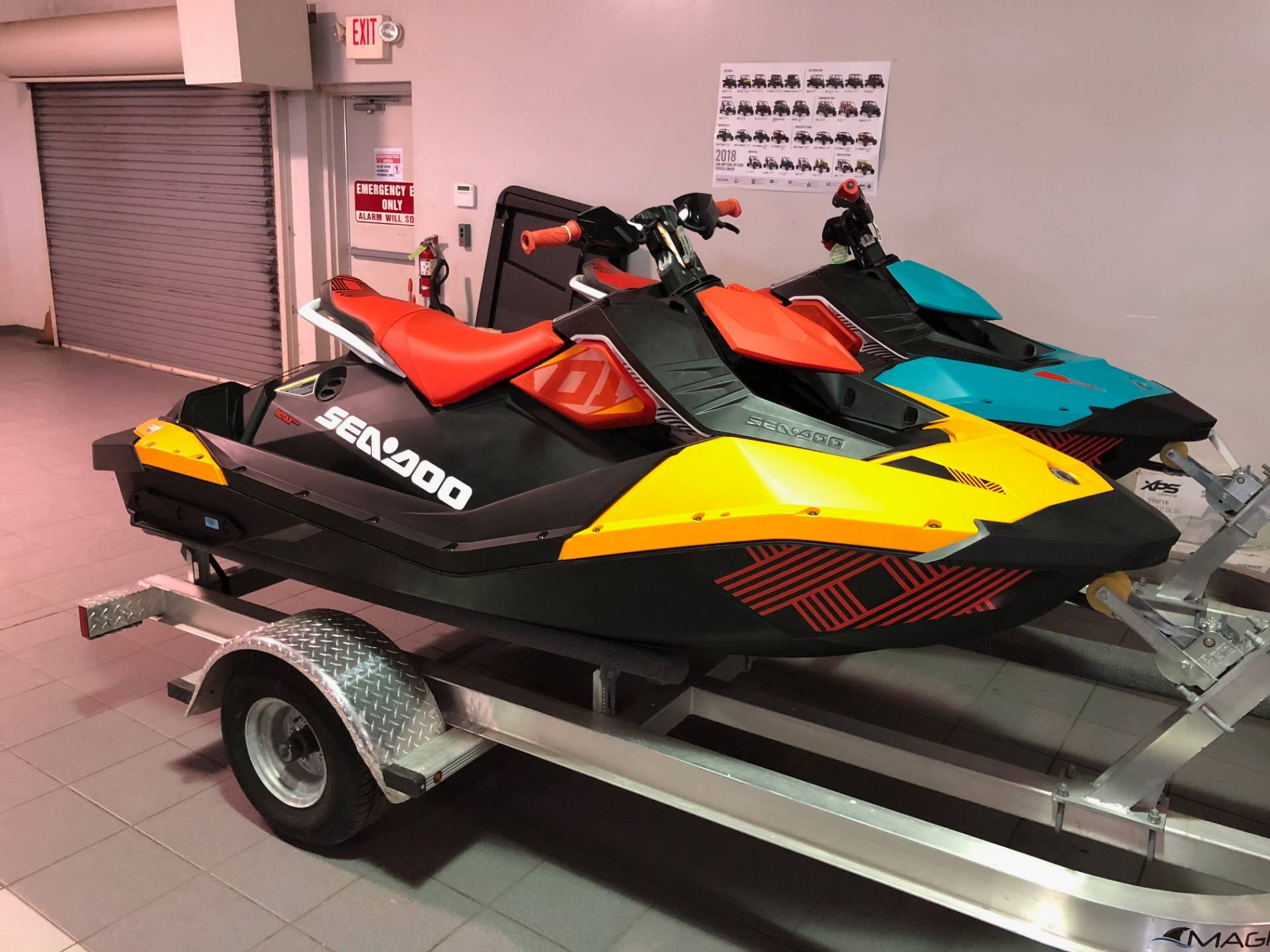 2018 Sea-Doo Spark 2up Trixx iBR in Lafayette, Louisiana - Photo 1