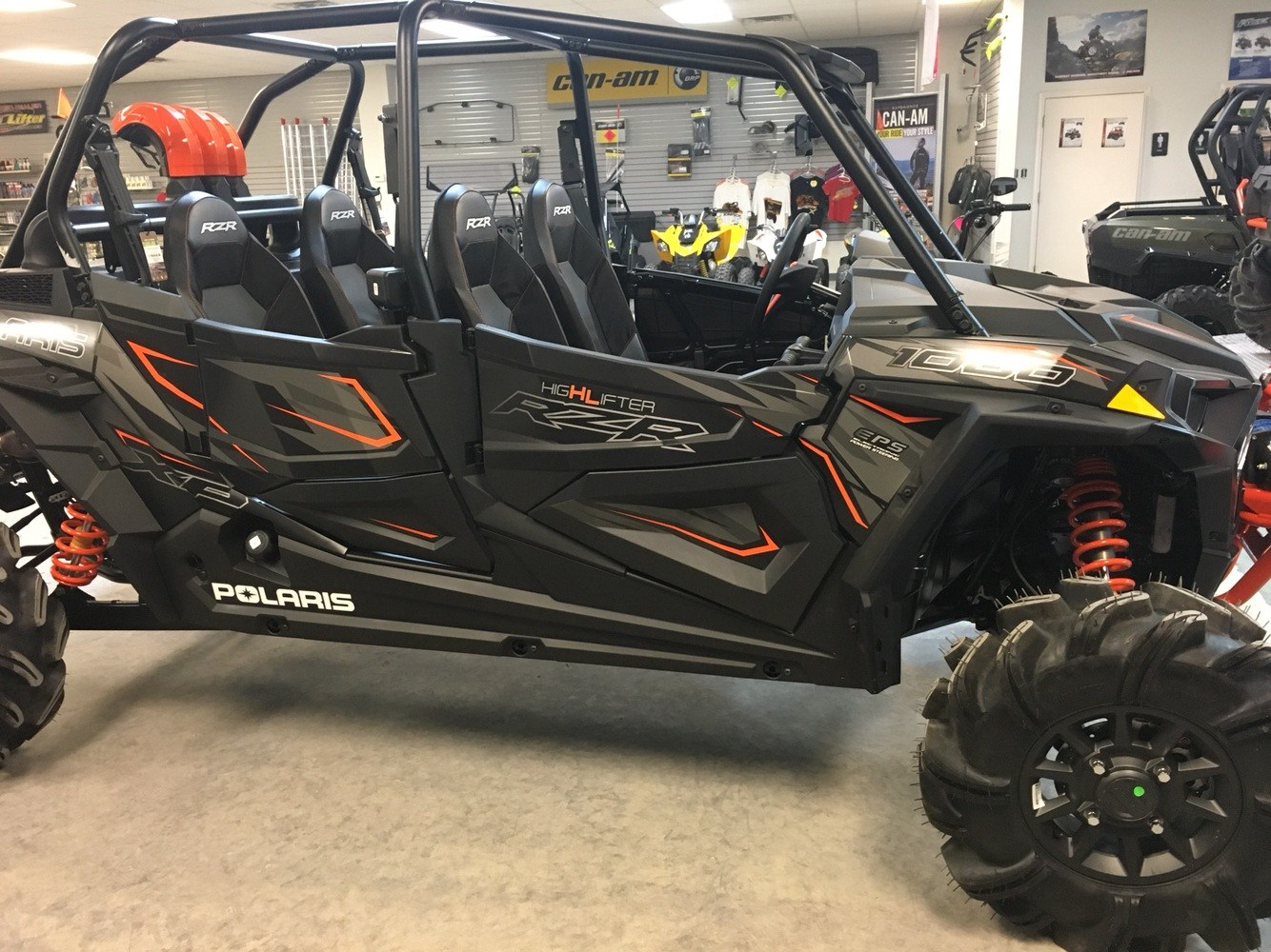 2019 Polaris RZR XP 4 1000 High Lifter in Lafayette, Louisiana - Photo 3
