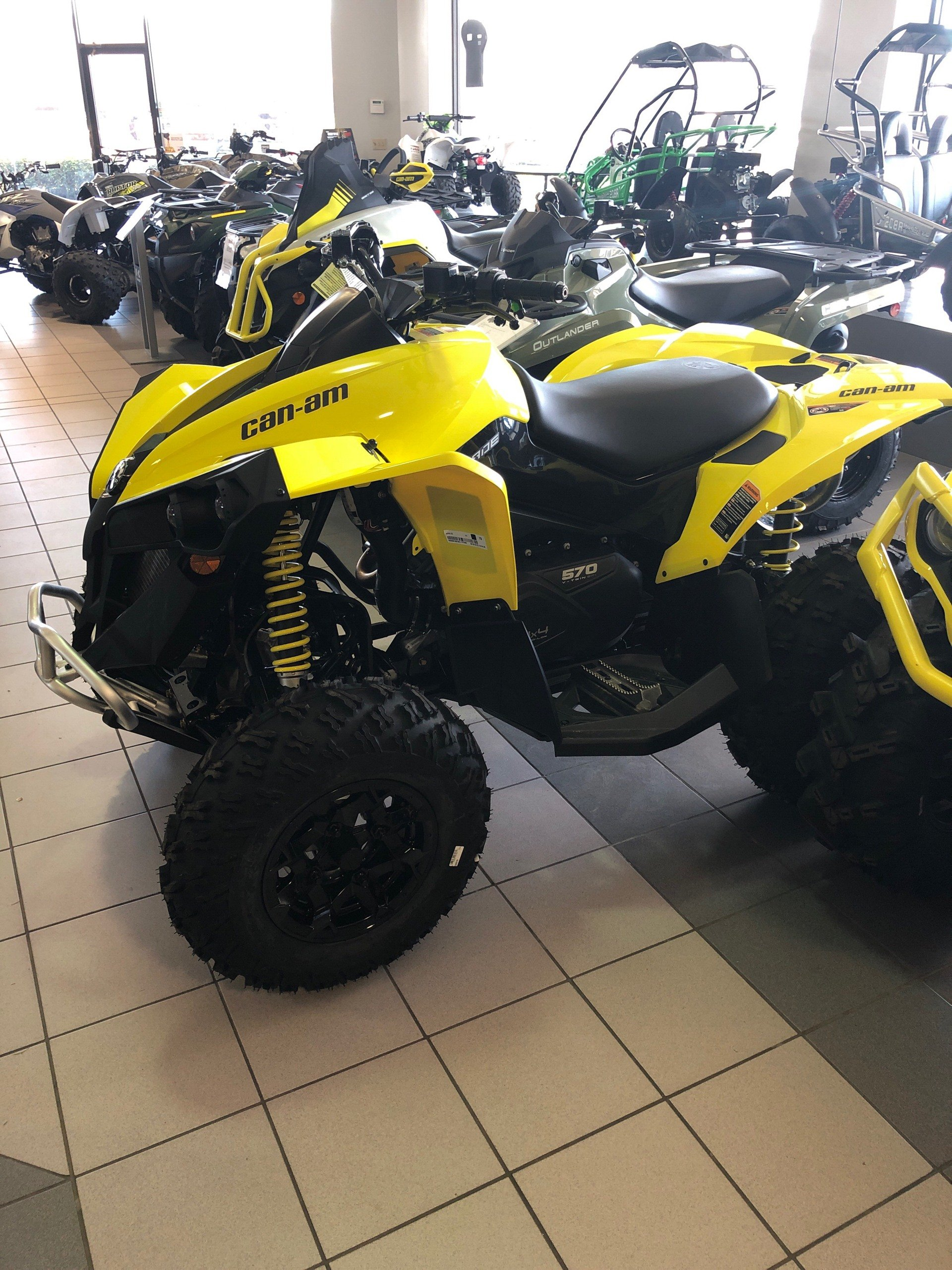 2019 Can-Am Renegade 570 in Lafayette, Louisiana - Photo 1