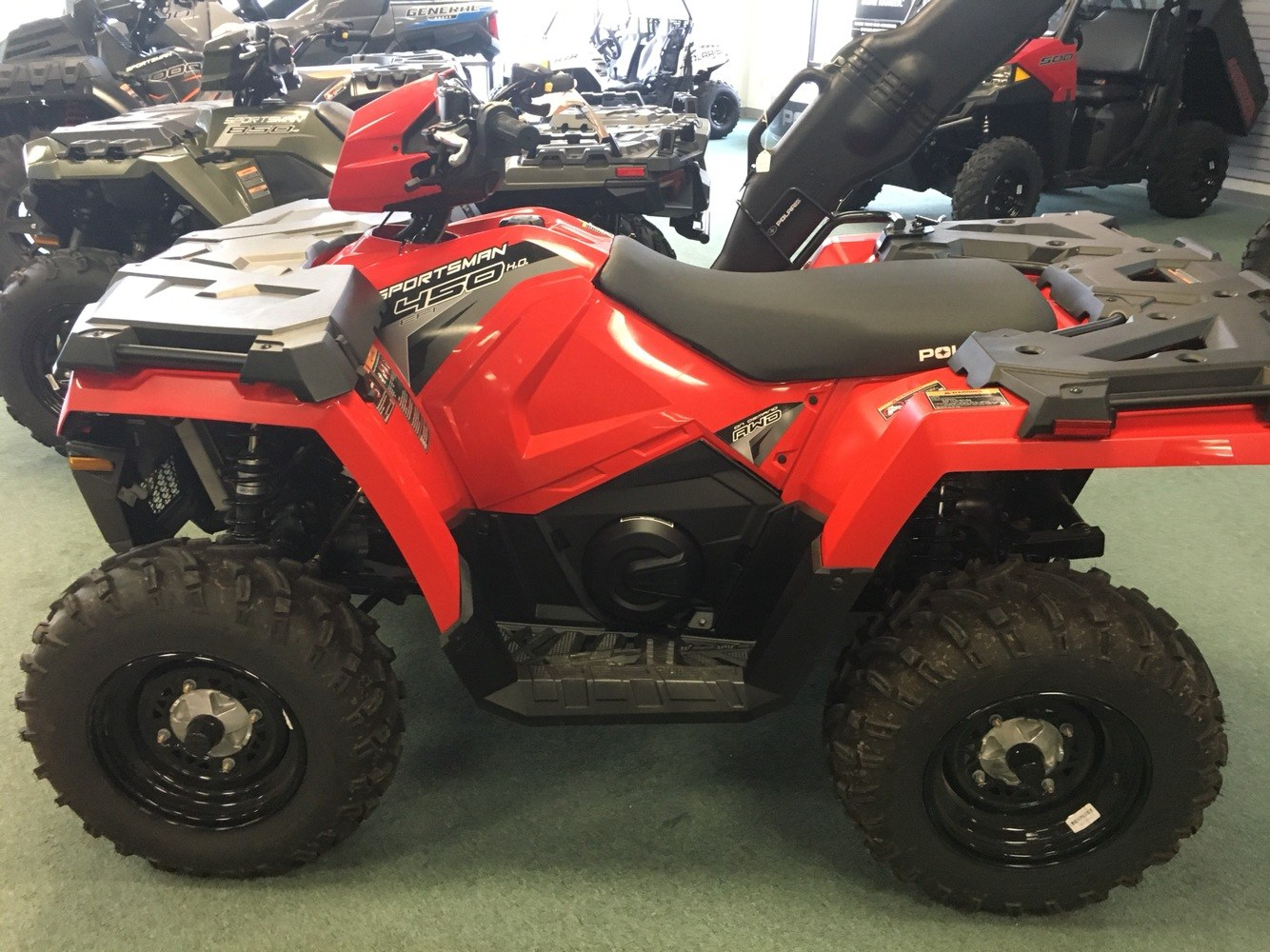 2019 Polaris SPORTSMAN 450 HO in Lafayette, Louisiana - Photo 4