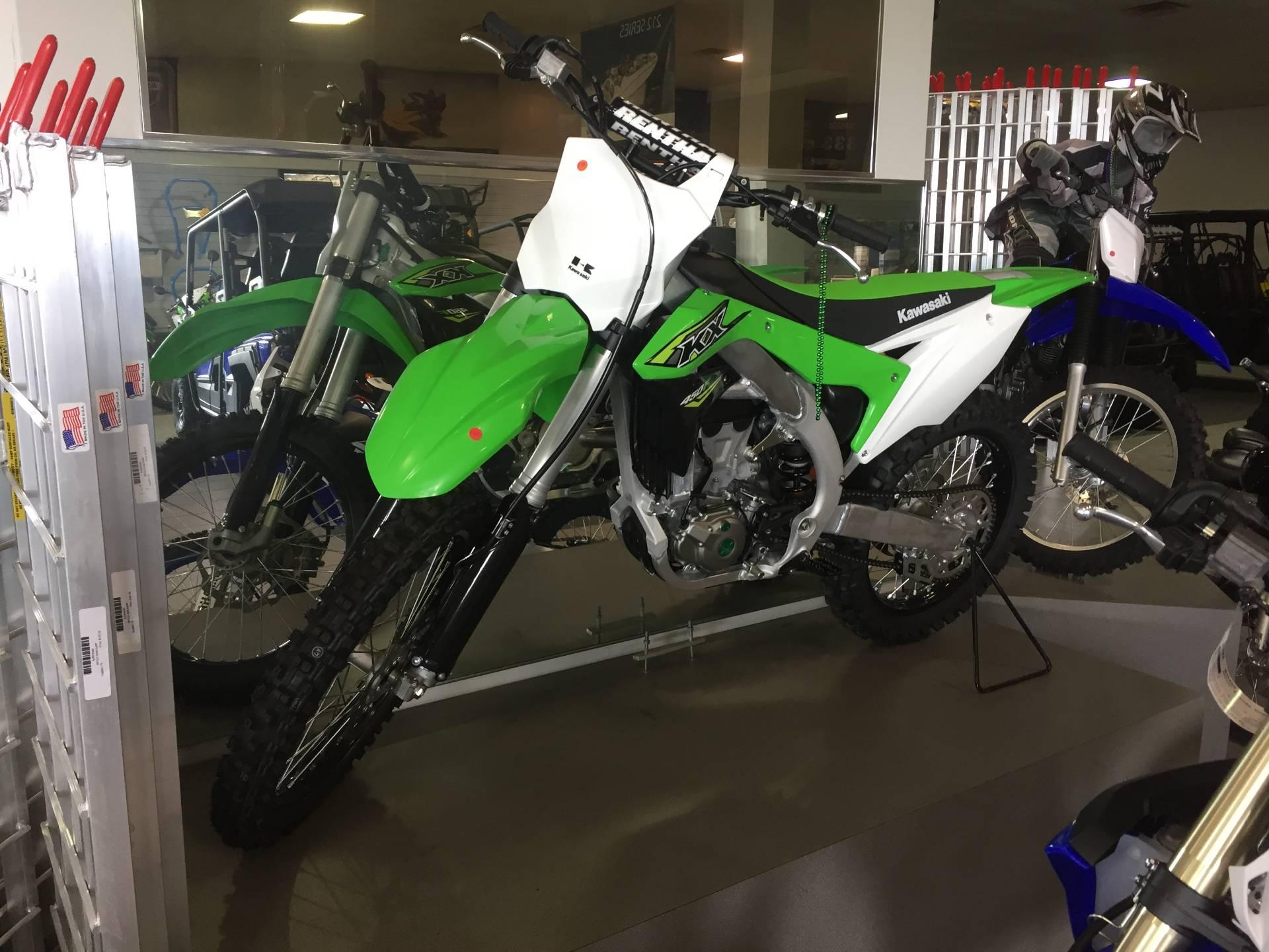 New 2018 Kawasaki KX 450F Motorcycles in Lafayette, LA
