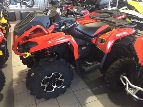 2018 Can-Am Outlander X mr 570 in Lafayette, Louisiana