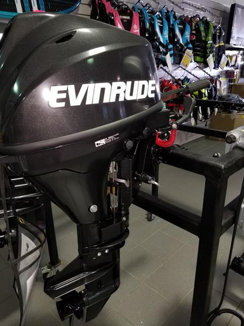 Evinrude Portable 9.8 HP (E10RG4) in Lafayette, Louisiana - Photo 1