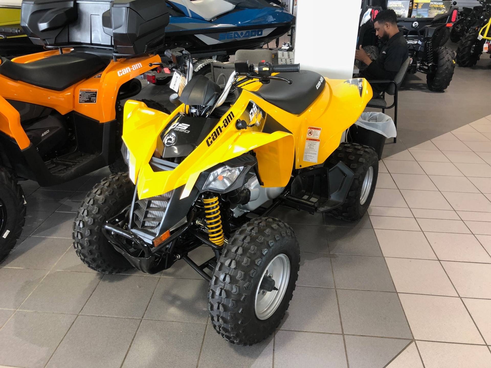 2017 Can-Am DS 250 in Lafayette, Louisiana