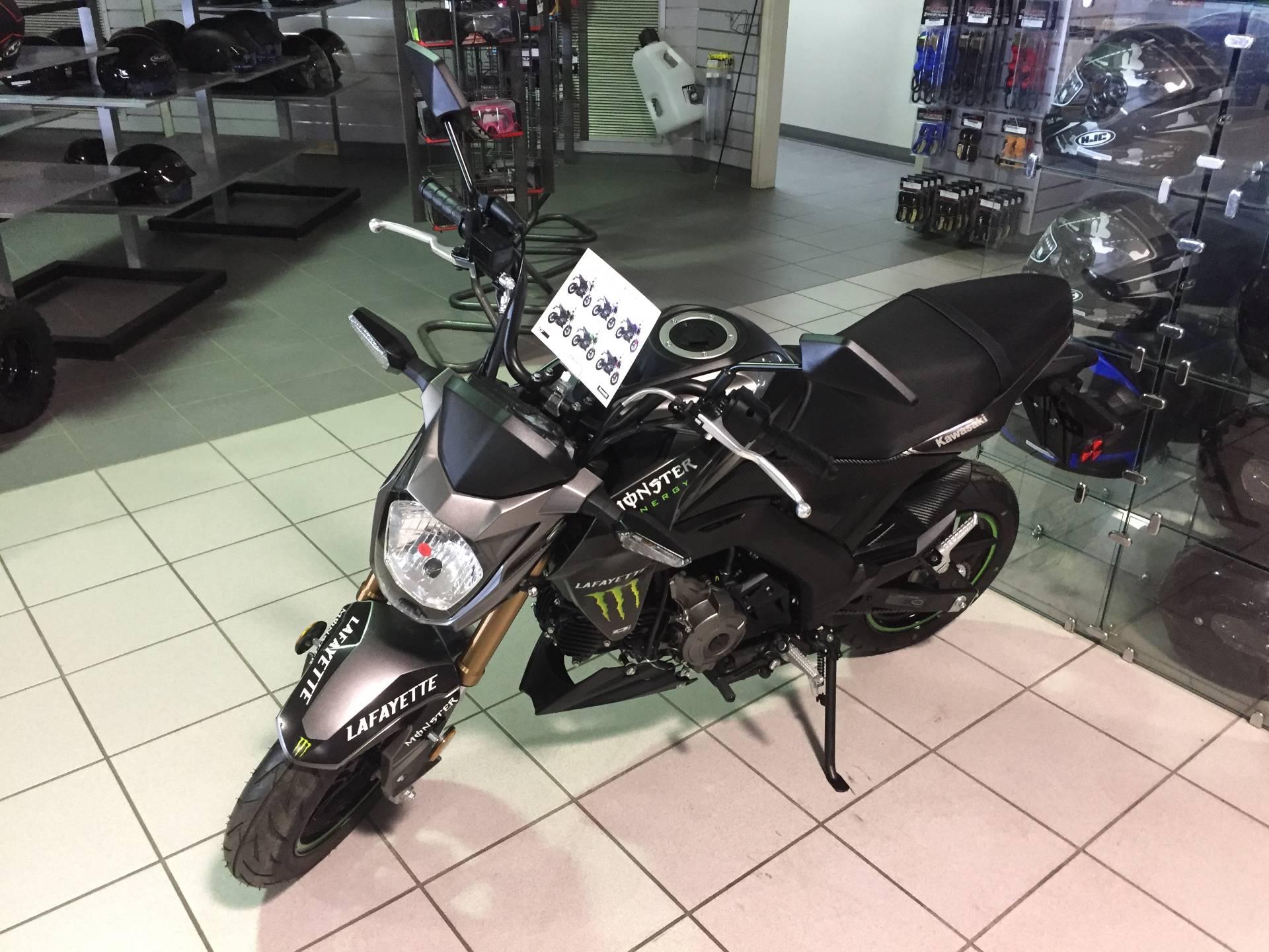 New 2017 Kawasaki Z125 Pro Motorcycles in Lafayette, LA