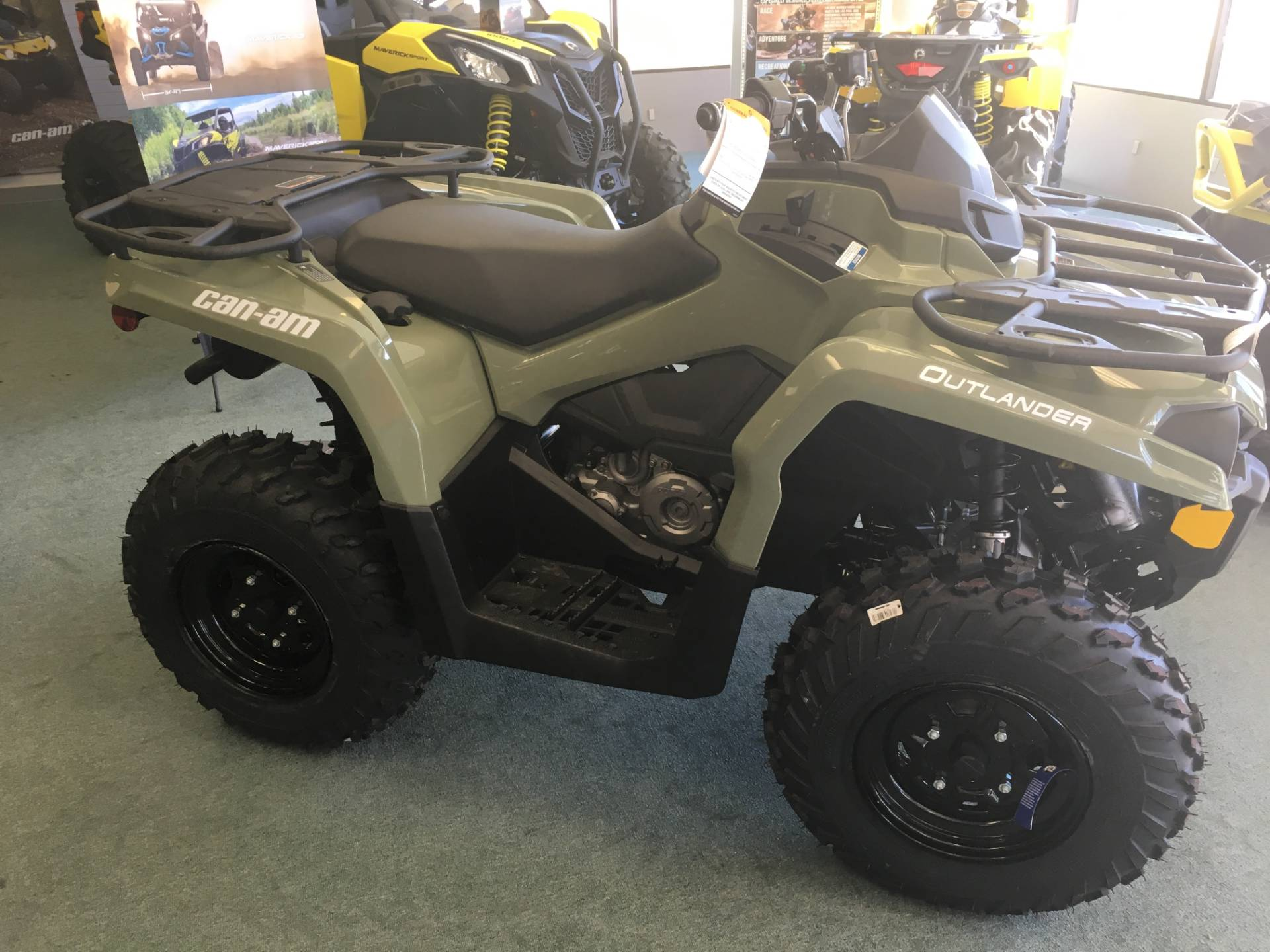 2019 Can-Am Outlander 450 in Lafayette, Louisiana - Photo 2