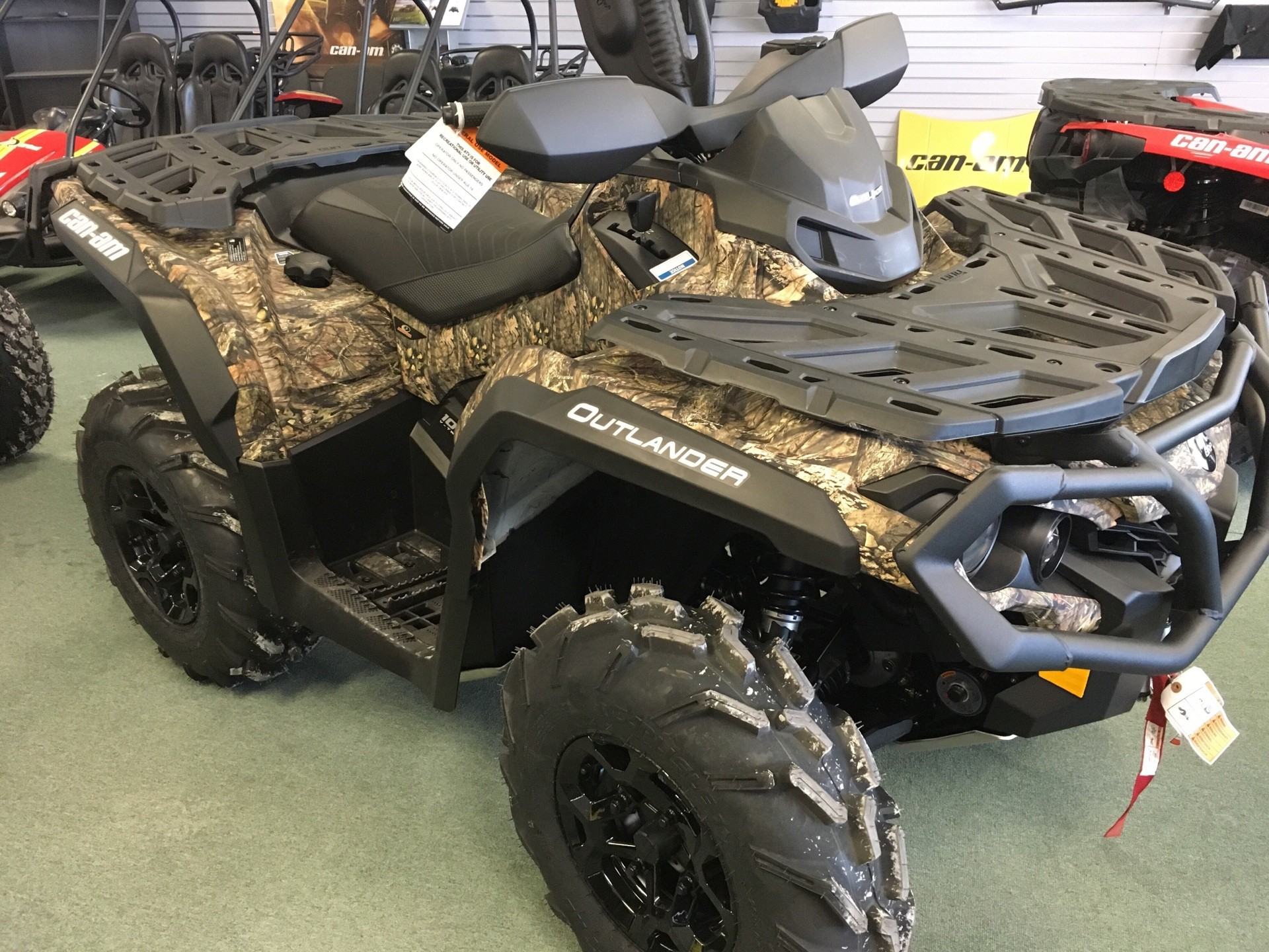 2019 Can-Am Outlander Mossy Oak Hunting Edition 1000R for sale 4614