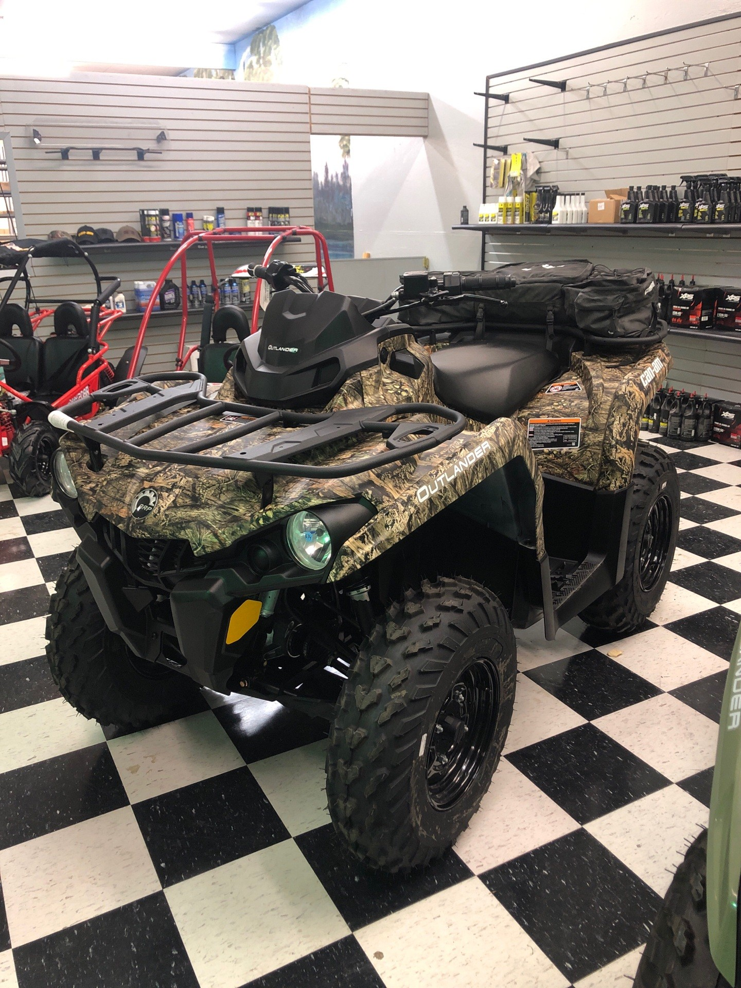 2020 Can-Am Outlander DPS 450 in Lafayette, Louisiana - Photo 1