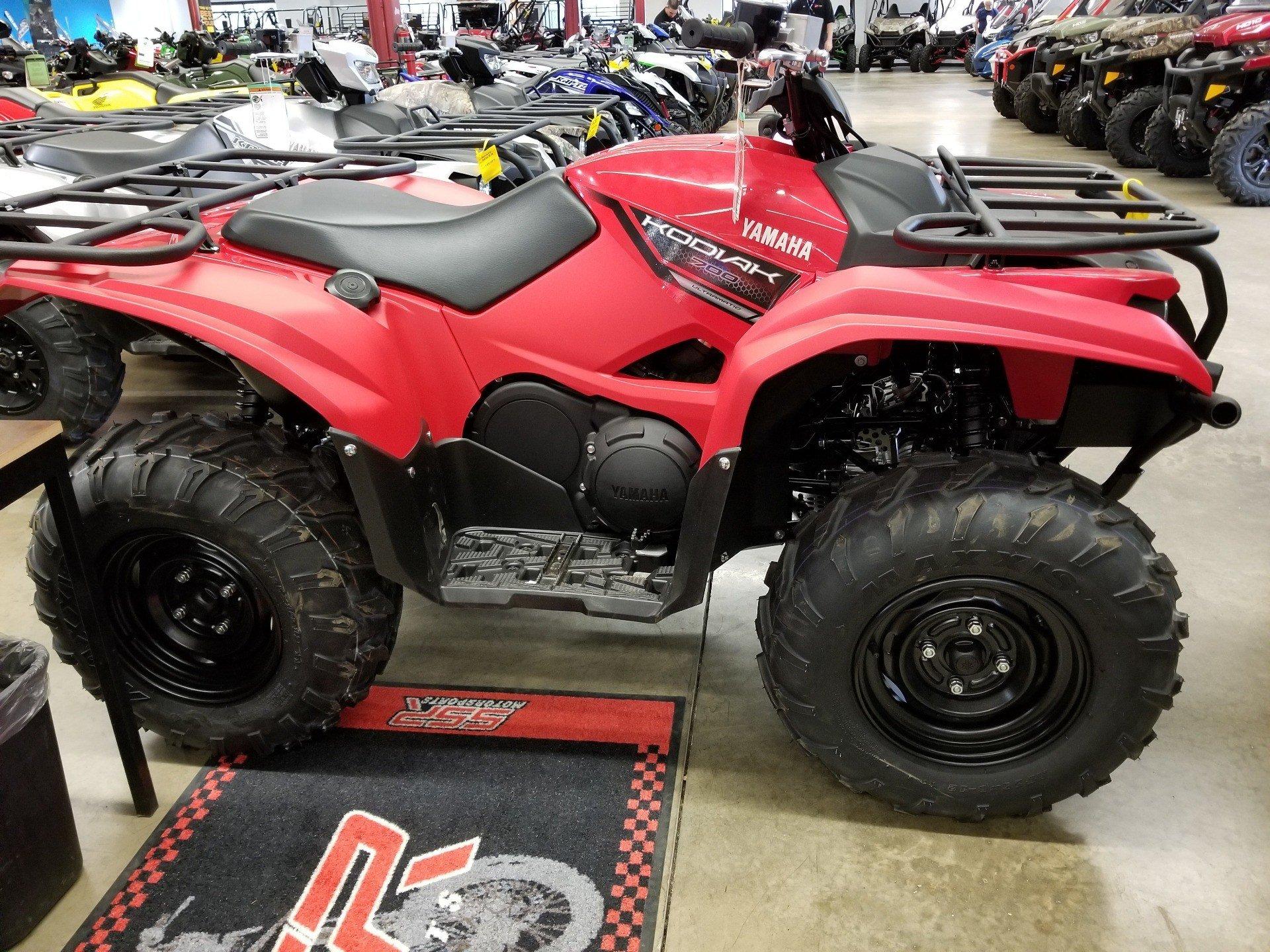 2018 Yamaha Kodiak 700 1