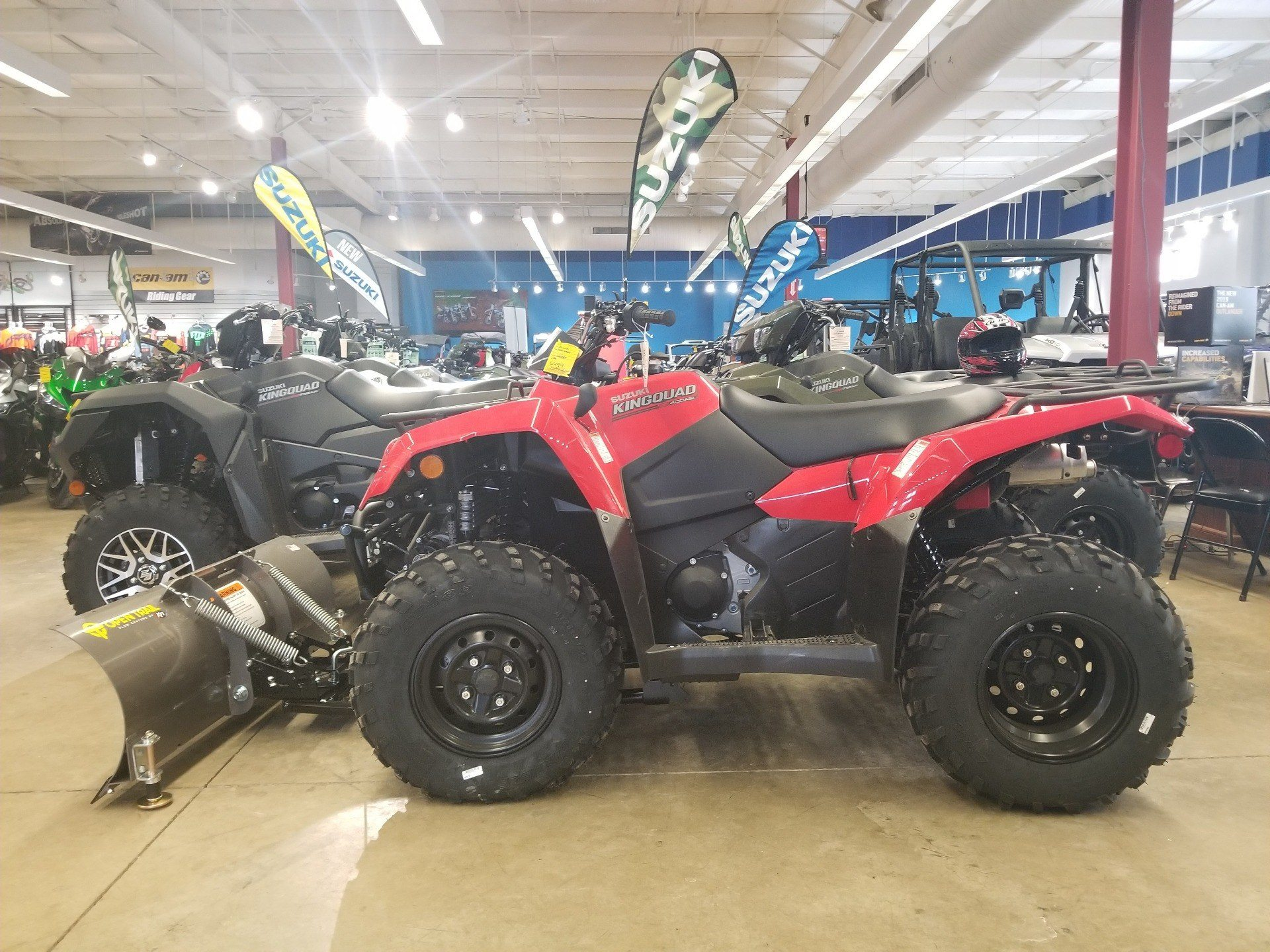 2019 Suzuki KingQuad 400ASi in Canton, Ohio - Photo 2