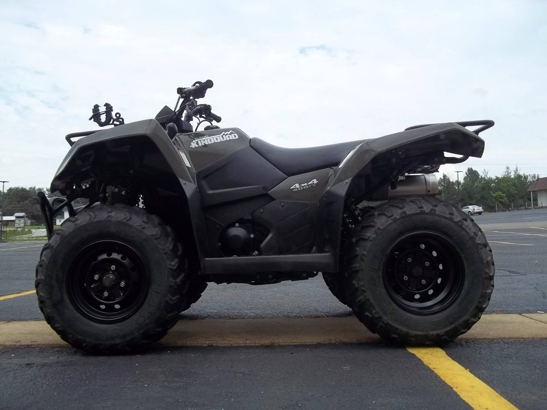 2015 Suzuki KingQuad 400FSi in Canton, Ohio