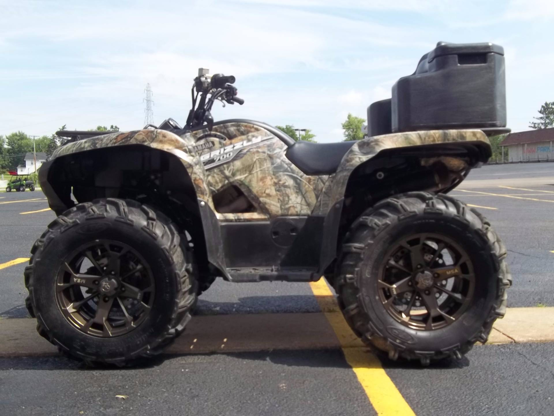 2014 Yamaha Grizzly 700 FI Auto. 4x4 EPS in Canton, Ohio