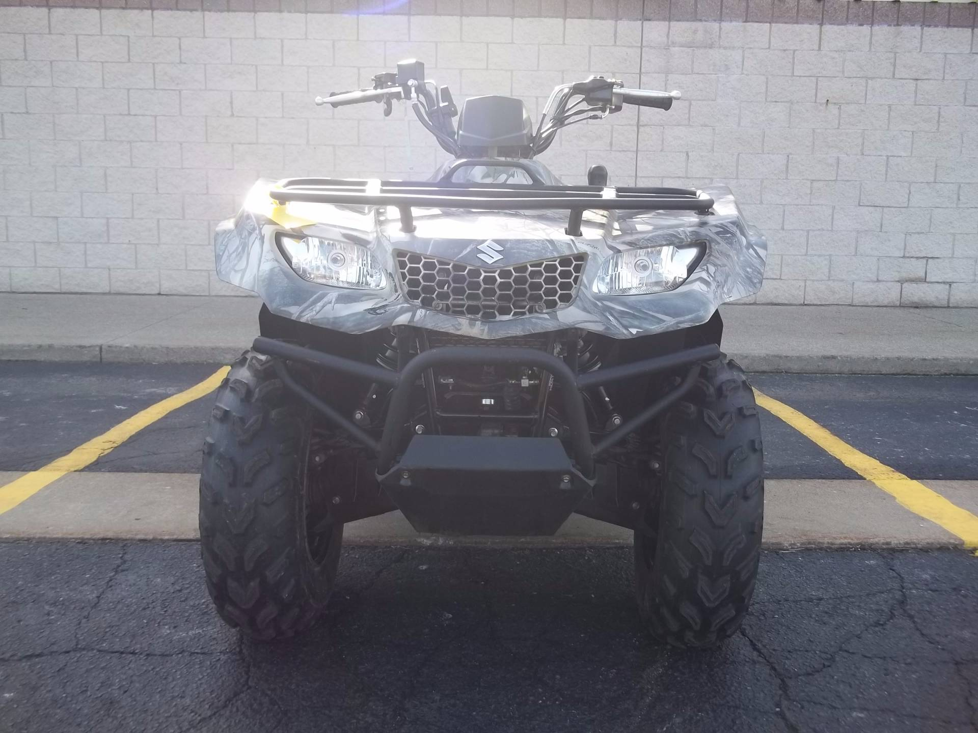 2015 Suzuki KingQuad 400FSi Camo in Canton, Ohio