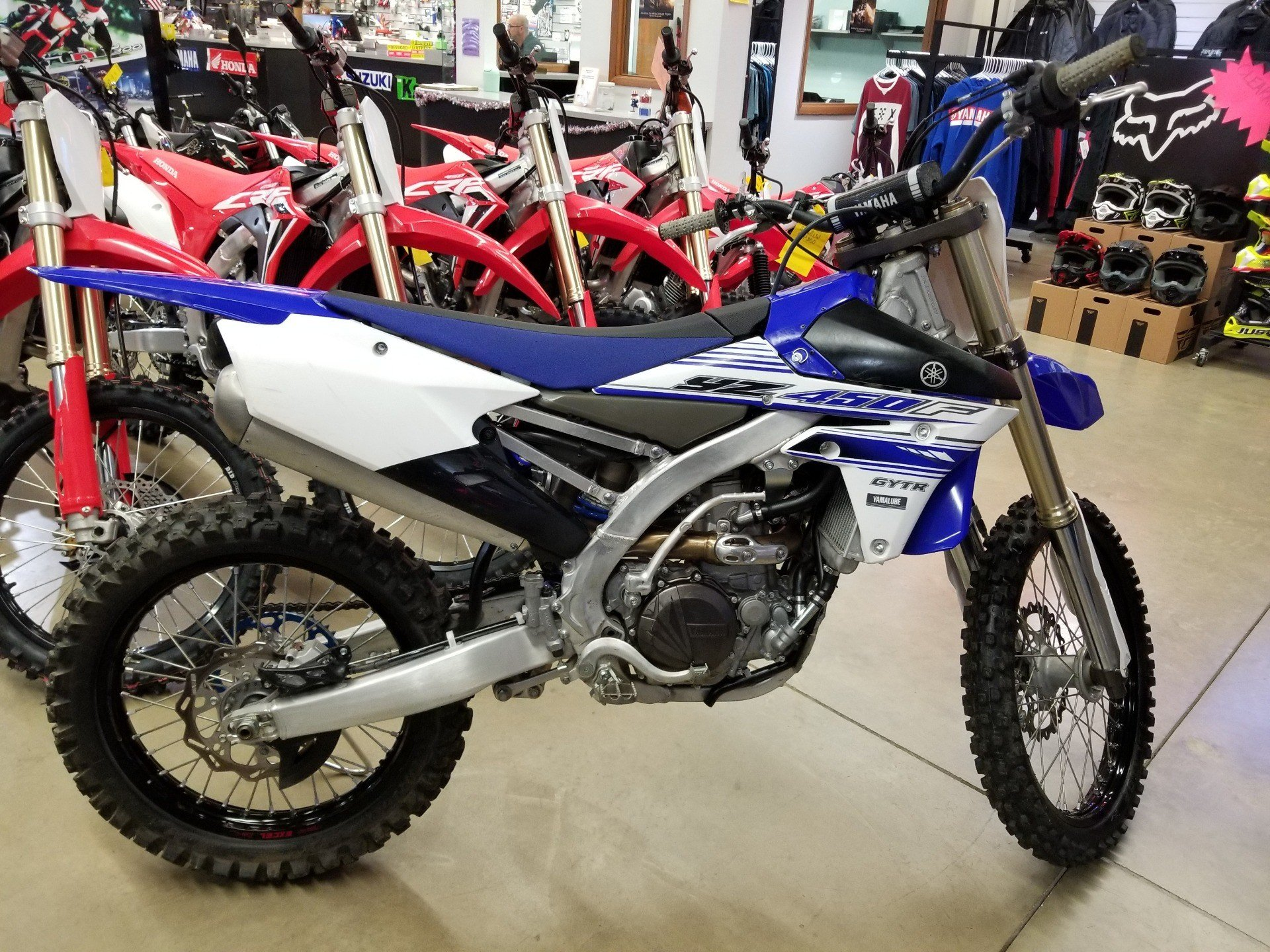 2016 Yamaha YZ450F in Canton, Ohio - Photo 1