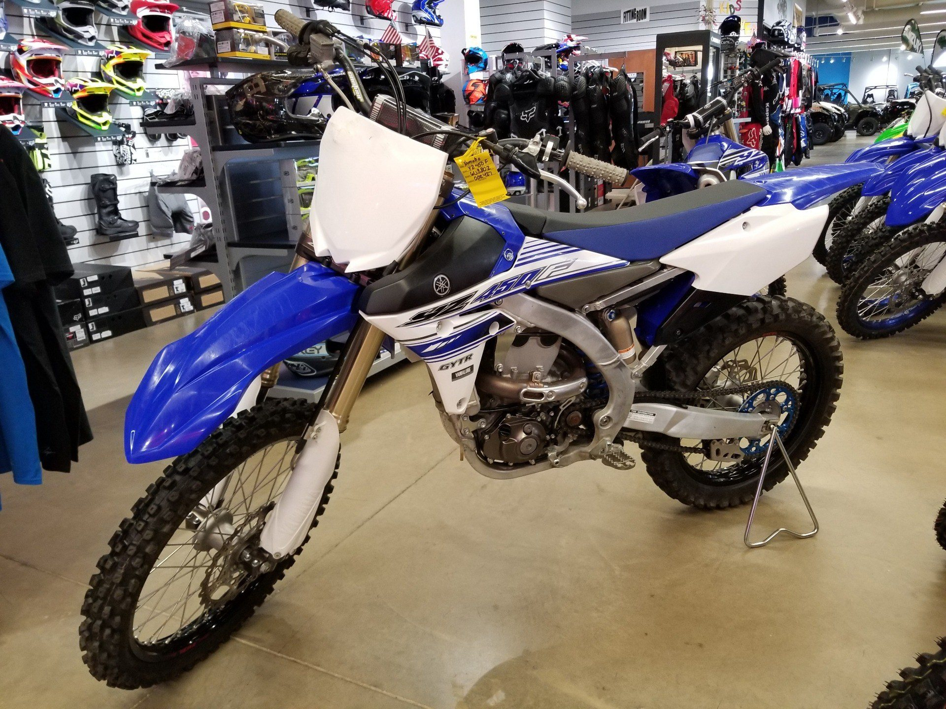 2016 Yamaha YZ450F in Canton, Ohio - Photo 3