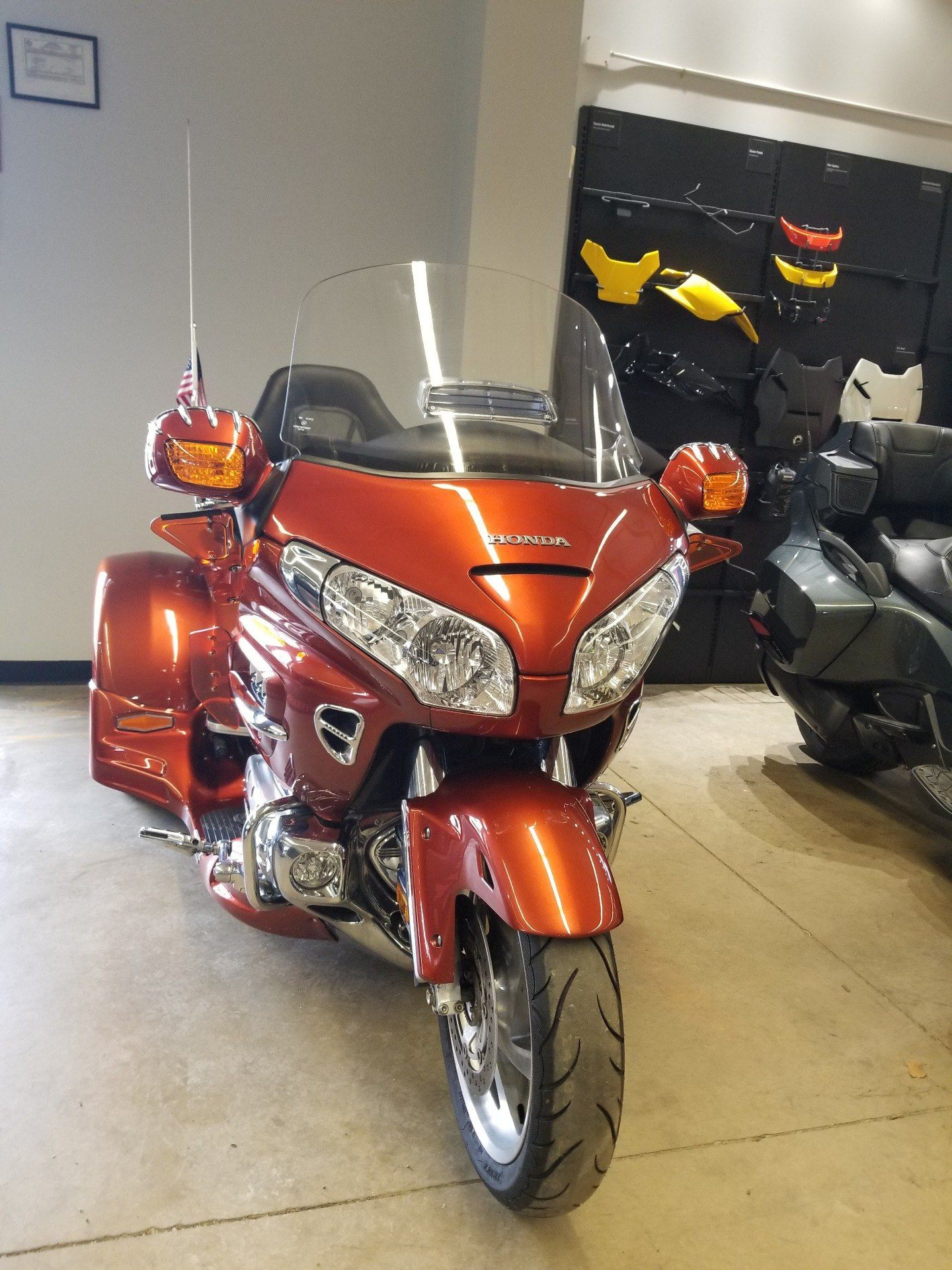 2007 Honda Gold Wing® Airbag in Canton, Ohio