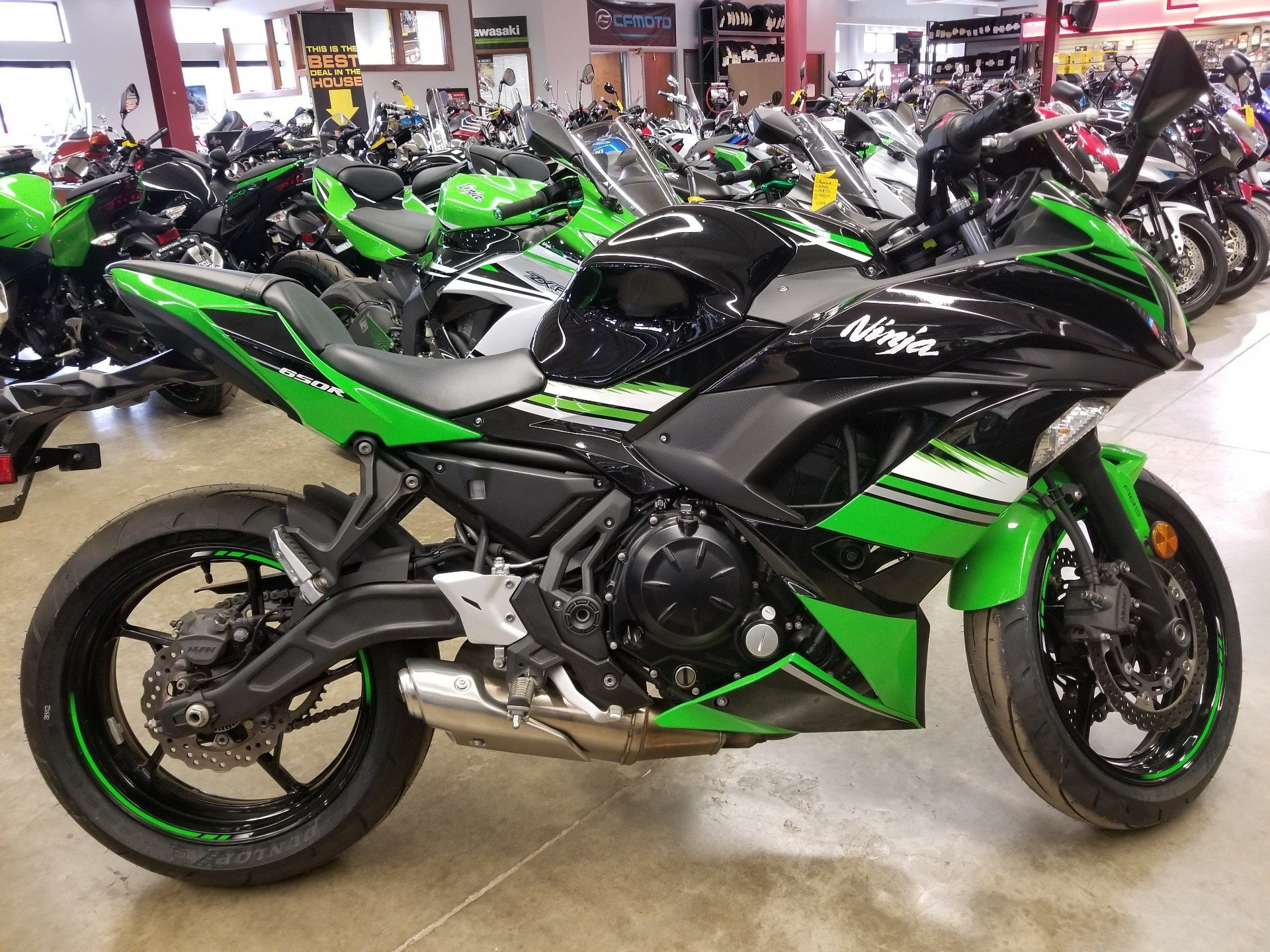 2017 Kawasaki Ninja 650 ABS KRT Edition in Canton, Ohio - Photo 1