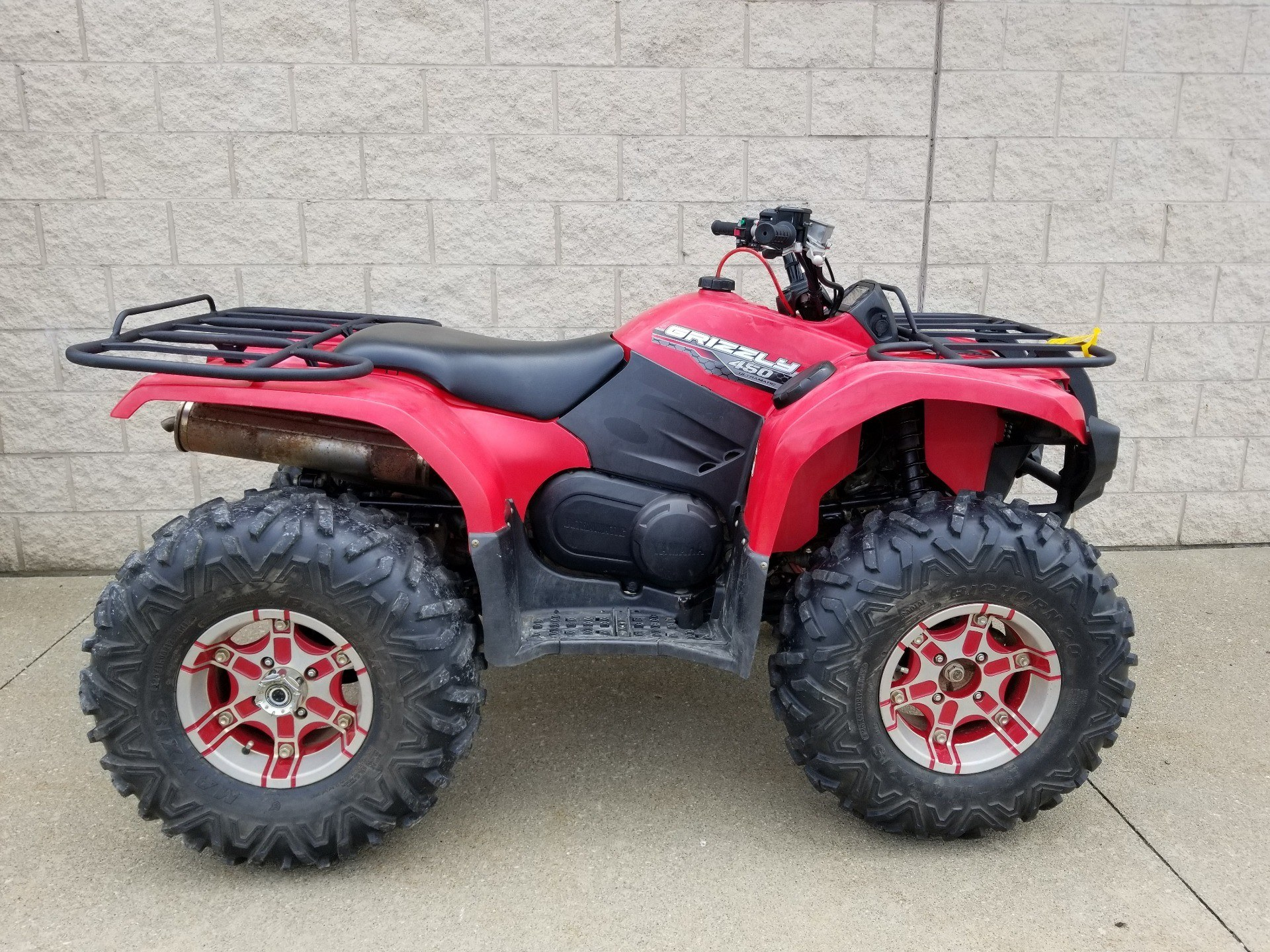 Yamaha Grizzly 450 >> 2014 Yamaha Grizzly 450 Auto 4x4 In Canton Ohio