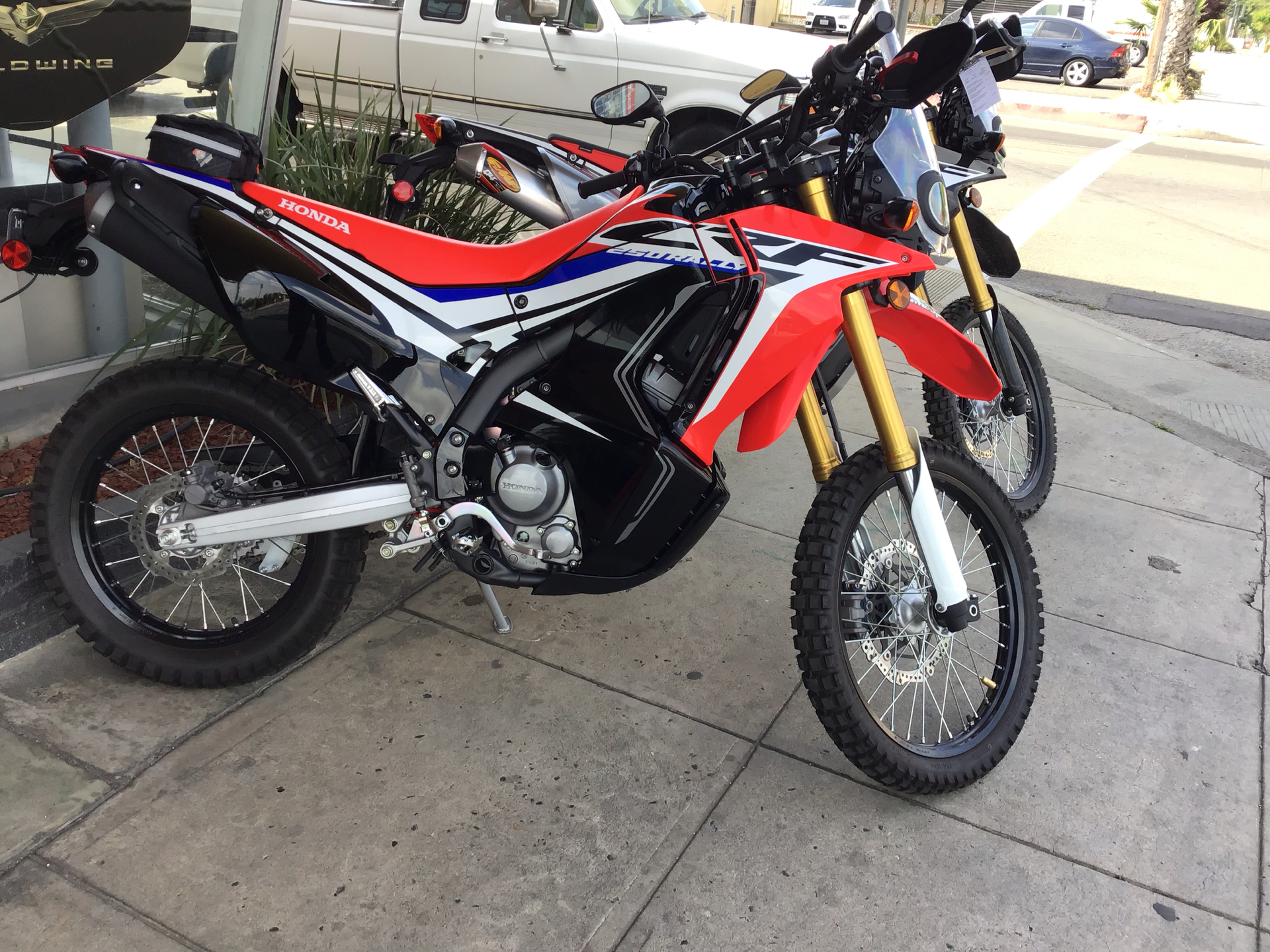 2017 Honda CRF250L in Madera, California