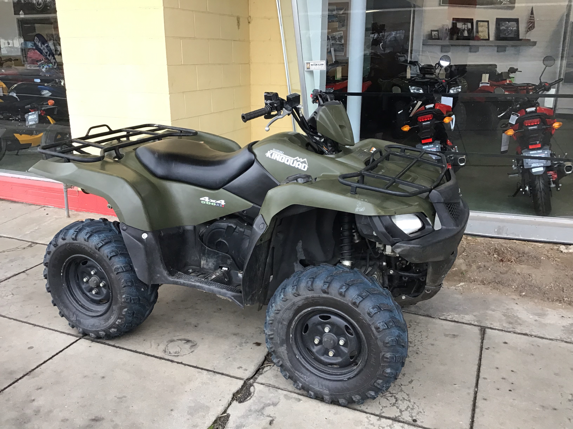 2013 Suzuki LTA500XP in Madera, California