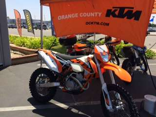 2016 KTM 250 XCF-W in Orange, California