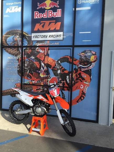 2016 KTM 450 SX-F in Orange, California