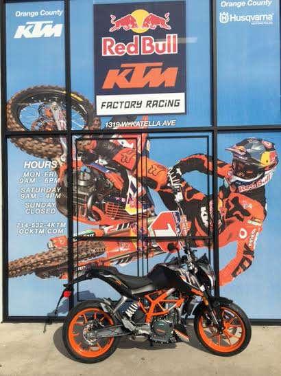 2016 KTM 390 Duke in Orange, California