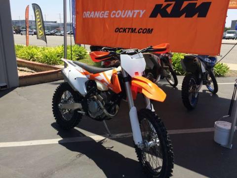 2016 KTM 250 XC-F in Orange, California