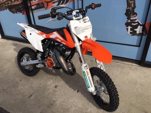 2016 KTM 50 SXS in Orange, California