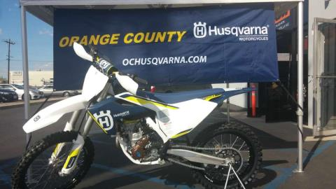 2016 Husqvarna FC 250 in Orange, California