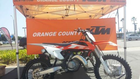 2016 KTM 125 SX in Orange, California