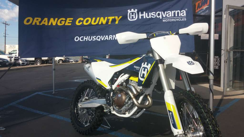 2016 Husqvarna FC 350 in Orange, California