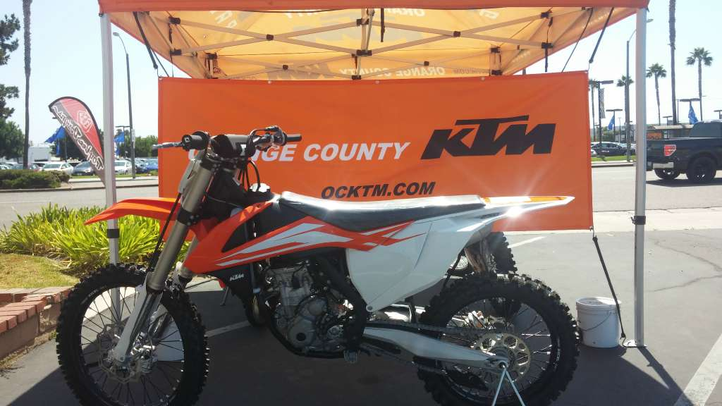 2016 KTM 250 SX-F in Orange, California