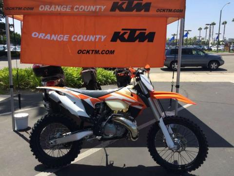 2016 KTM 250 XC in Orange, California