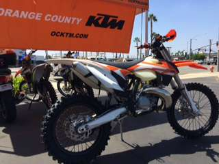 2016 KTM 250 XC in Orange, California