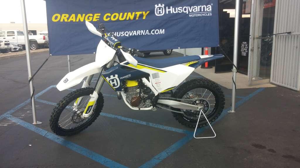 2016 Husqvarna FC 450 in Orange, California