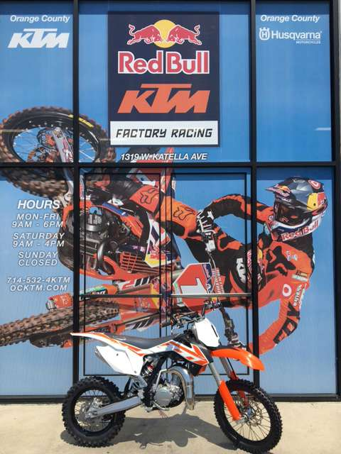 2017 KTM 85 SX 17/14 in Orange, California