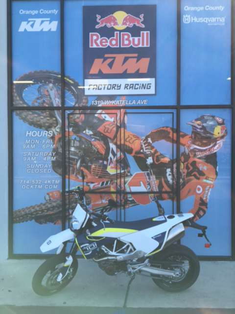 2016 Husqvarna 701 Supermoto in Orange, California