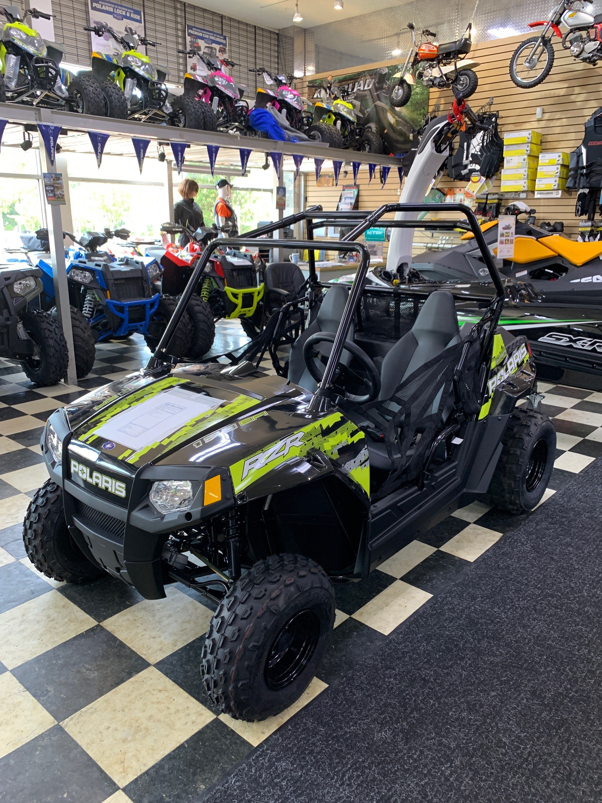 2019 Polaris RZR 170 EFI in Huntington Station, New York - Photo 1