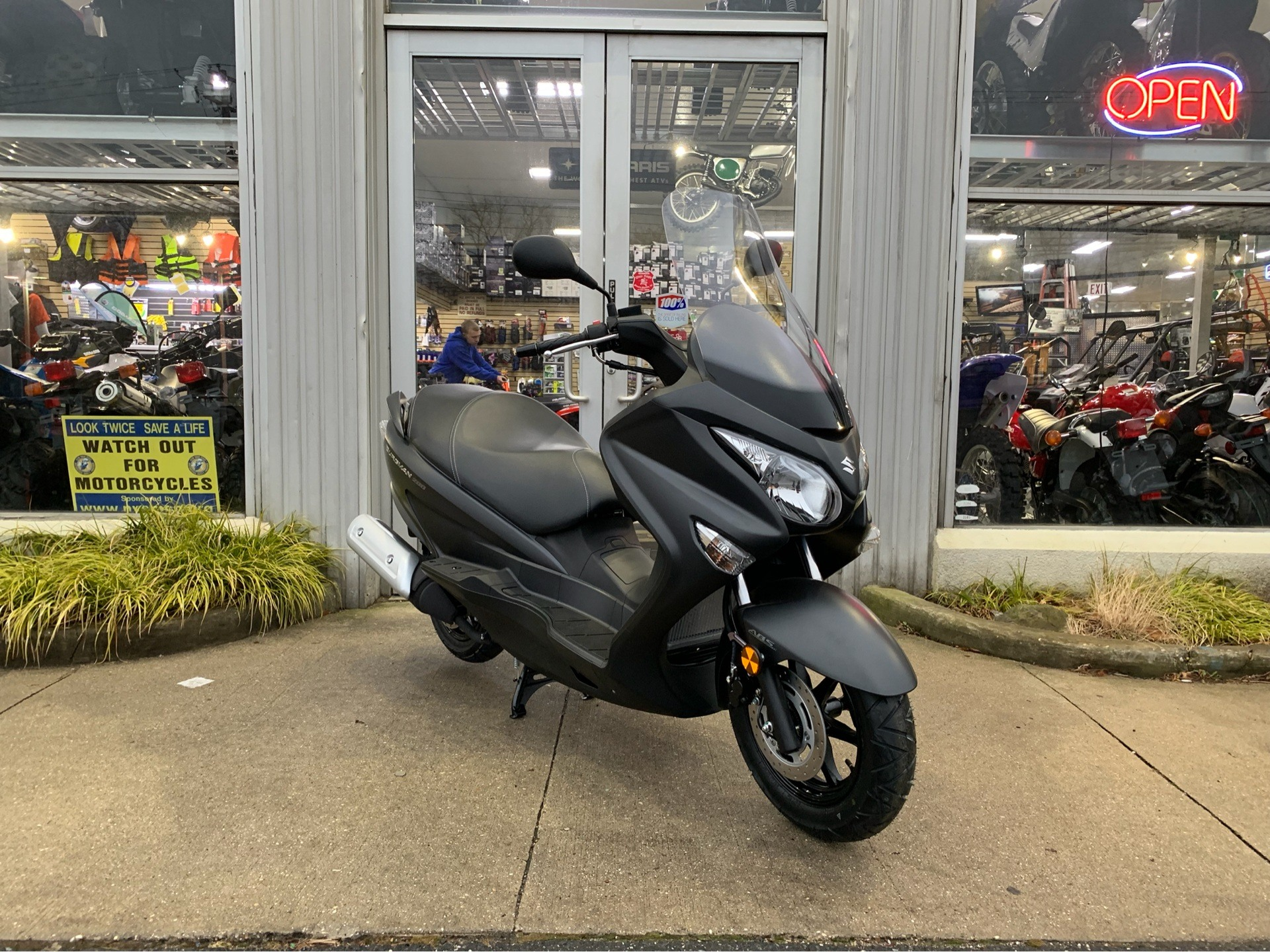 2019 Suzuki Burgman 200 in Huntington Station, New York