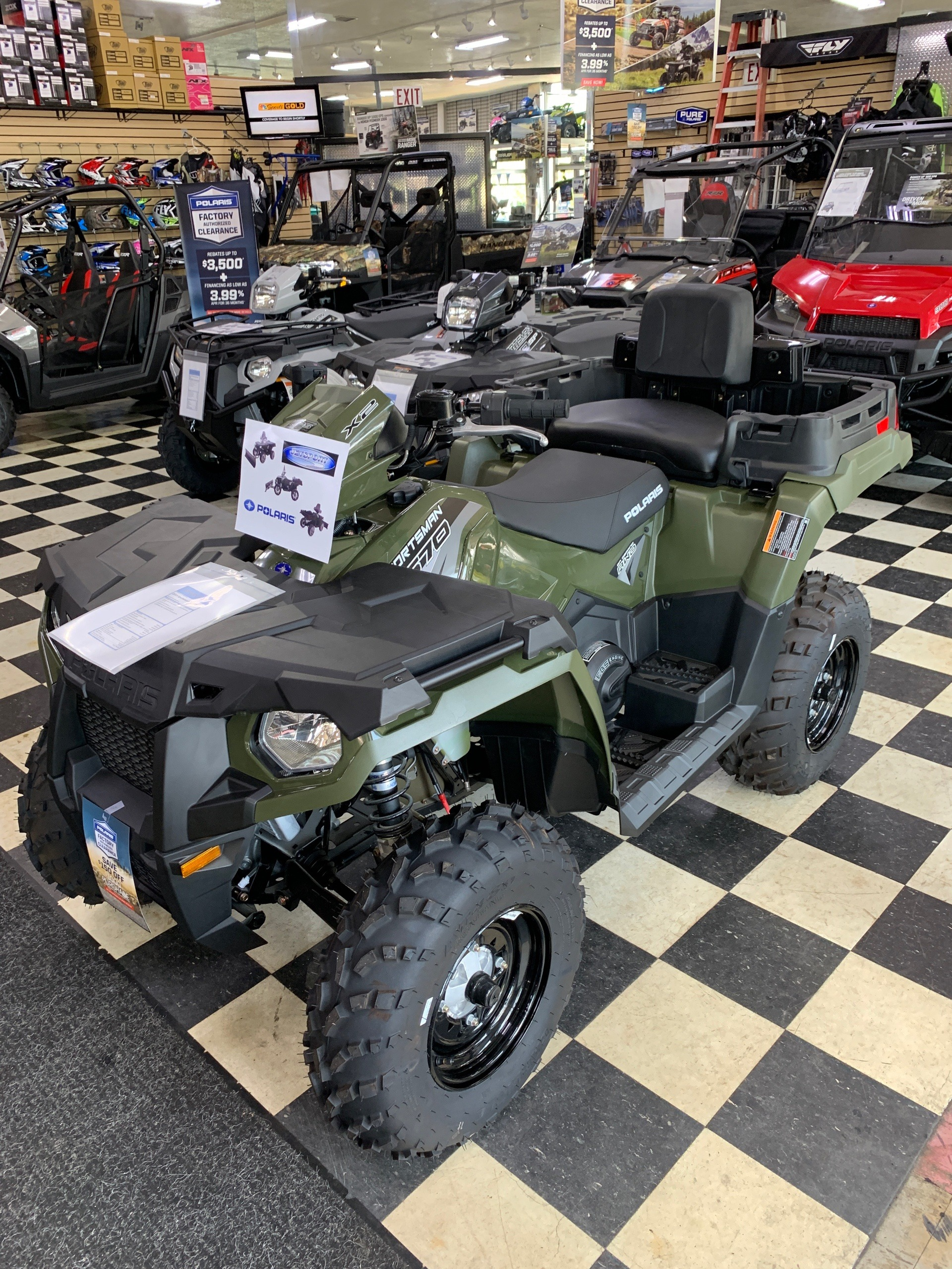 2019 Polaris Sportsman X2 570 in Huntington Station, New York - Photo 3
