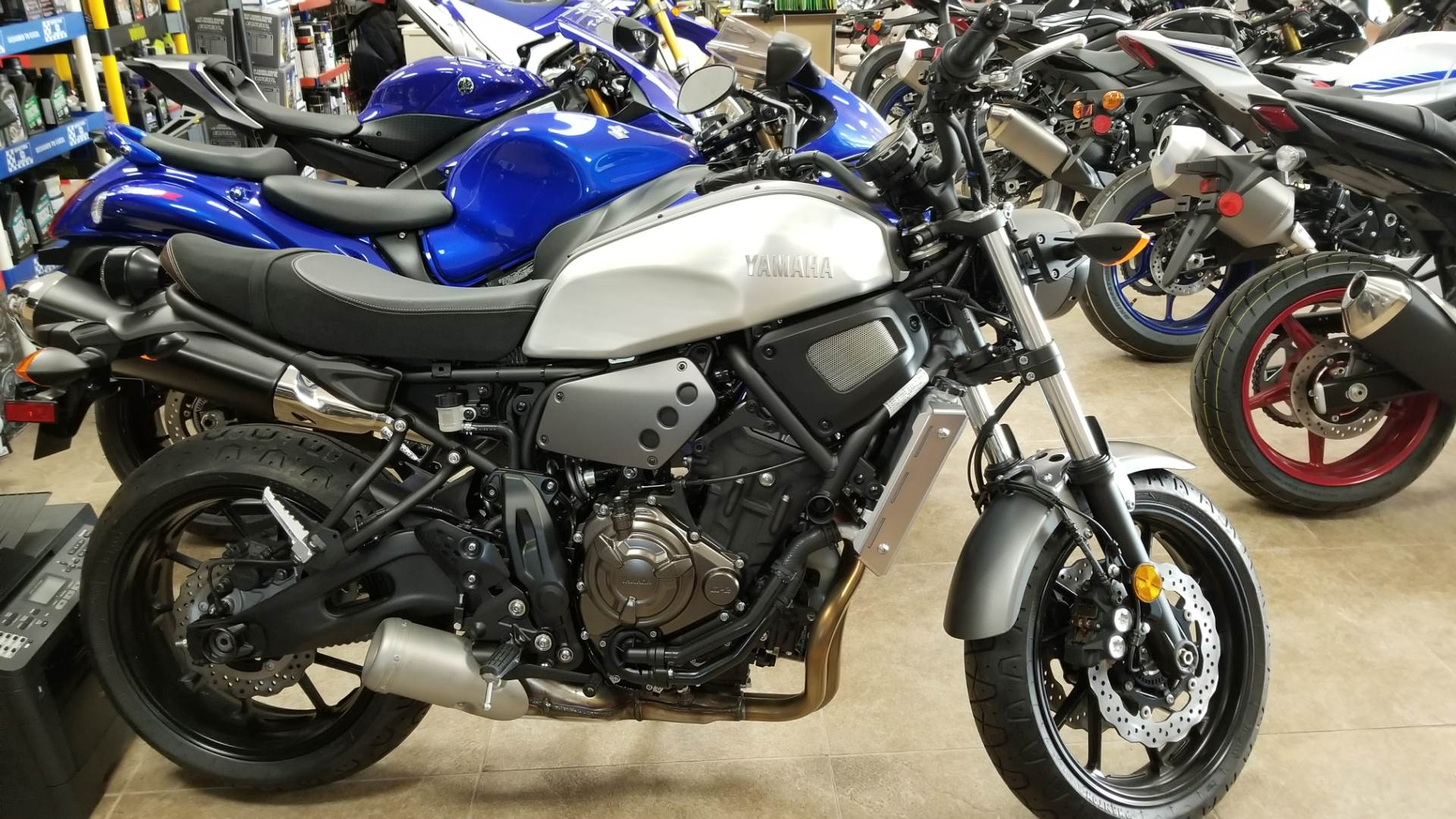2018 Yamaha XSR700 in Mineola, New York